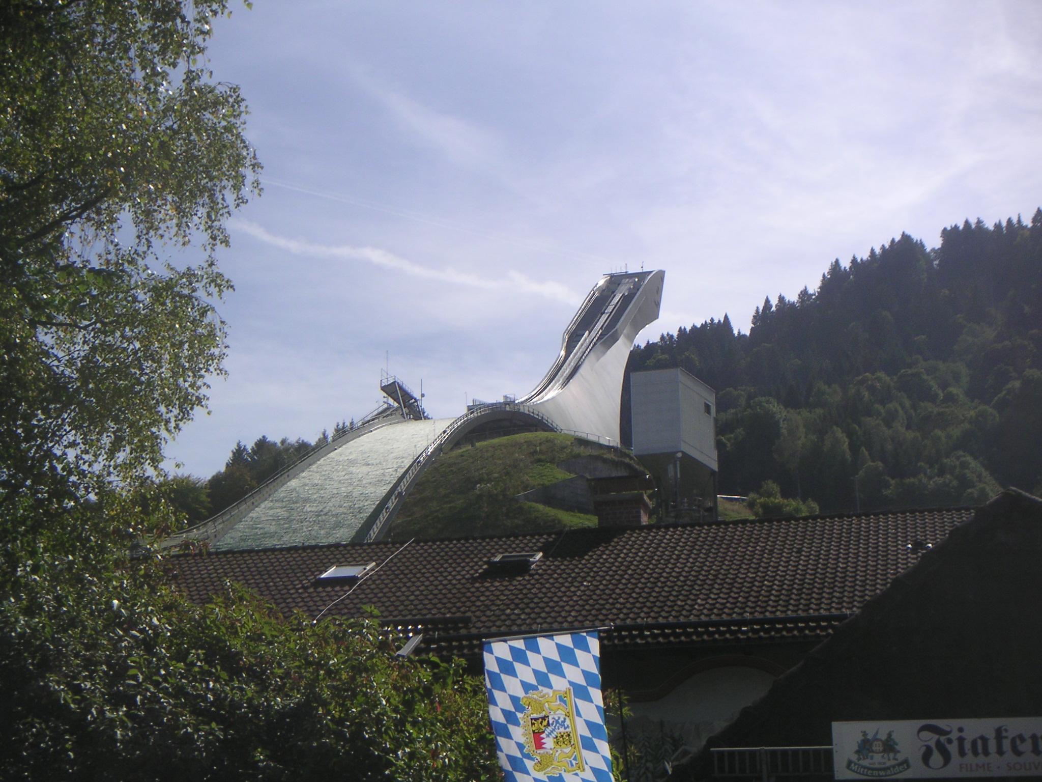 Große Olympiaschanze in Garmisch-Partenkirchen