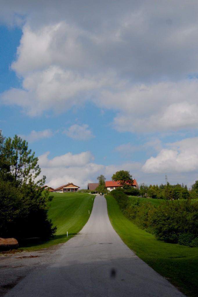 Das Gut Rieden auf der Anhöhe bei Starnberg