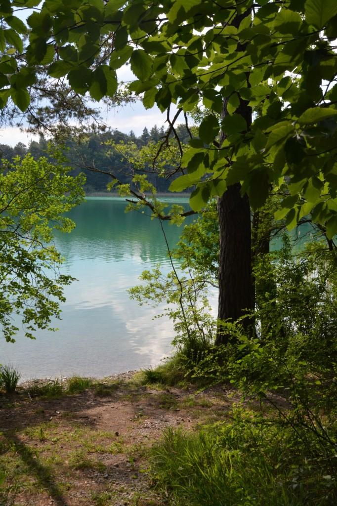 Türkisblaues Wasser im Fohnsee