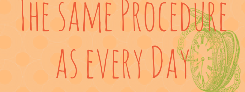 Alles Routine: Von Gewohnheiten, Ritualen und kleinen Macken