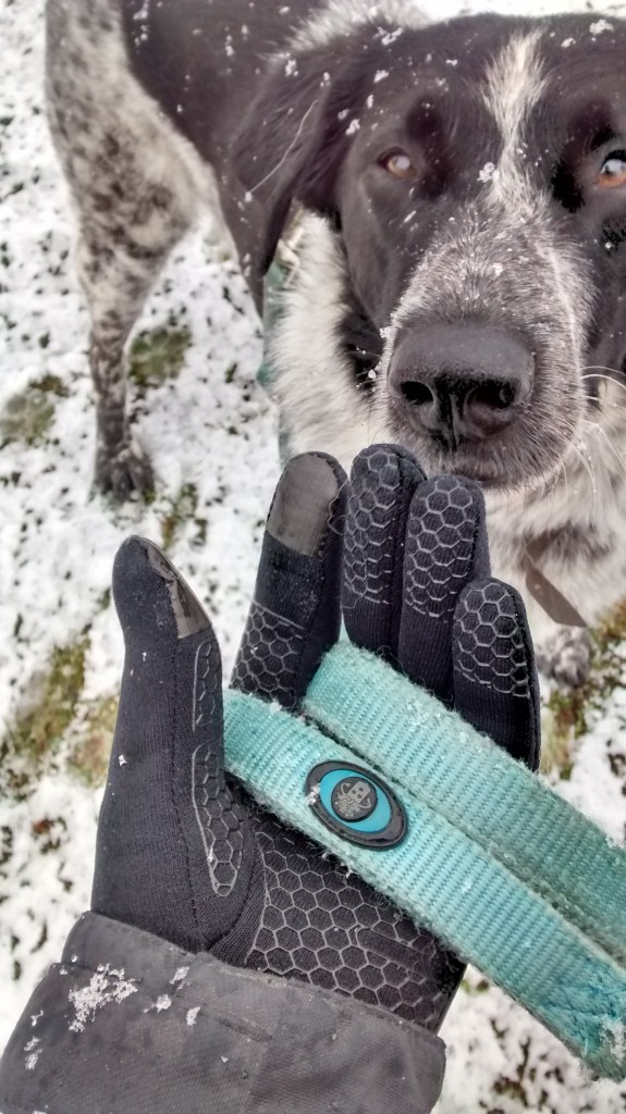 Handschuhe aus Polartec im Einsatz