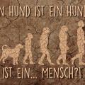 evolution-hund-mensch-text