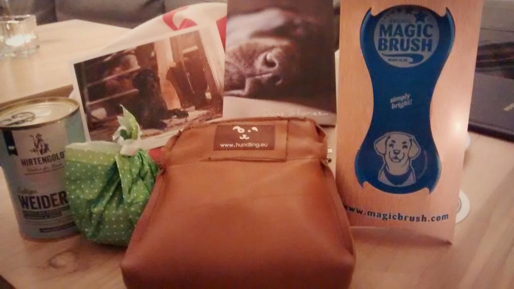 Goodie Bag beim Treffen Münchner Tierblogs