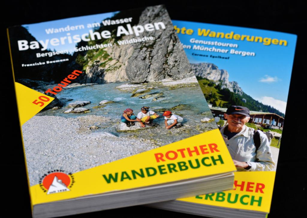 Wanderbücher von Rother